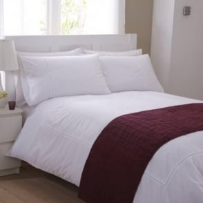 Bed Runner - Burgundy