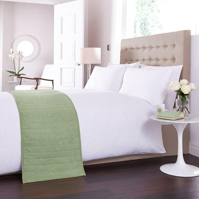 Charlotte Thomas Bed Runner - Green