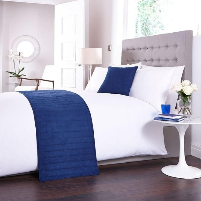 Charlotte Thomas Bed Runner Set - Navy