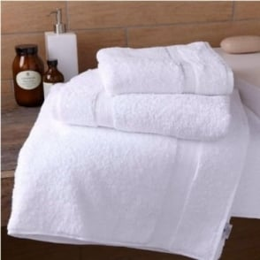 Extra Thick Turkish Cotton Towels in White
