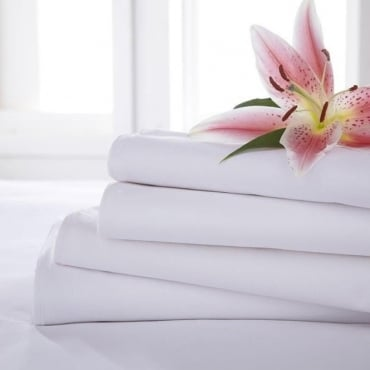 Flat Sheet - Polycotton 144 Thread Count