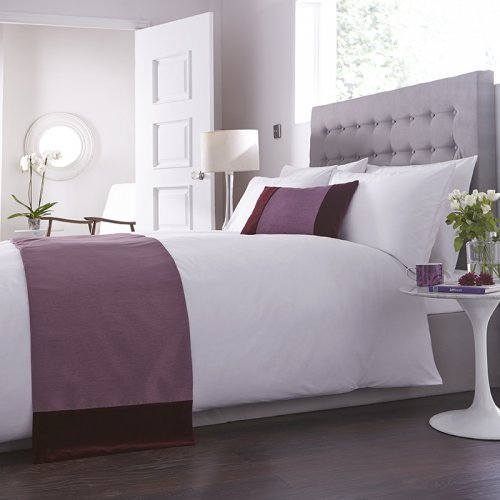 Charlotte Thomas Francesca Bed Runner In Plum