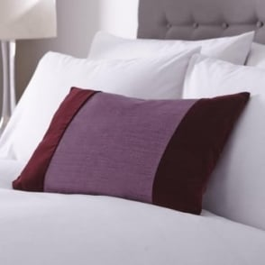 Francesca Cushion Cover in Plum