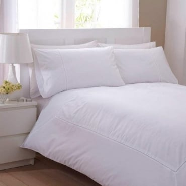 Laura Duvet Cover Set - Percale Polycotton 180 Thread Count