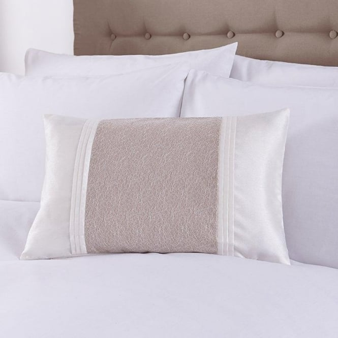 Charlotte Thomas Lucia Cushion Cover in Beige & Ivory