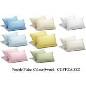 Percale Plain Collection - Customised Colour Swatch