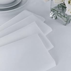 Plain Polyester Napkins (Pack of 4)