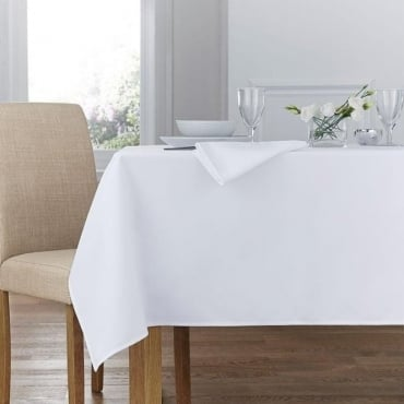 Plain Polyester Tablecloth