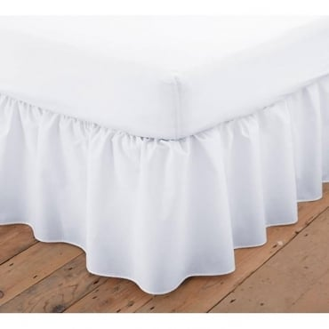 Platform Valance Sheet Frilled - Polycotton 144 Thread Count