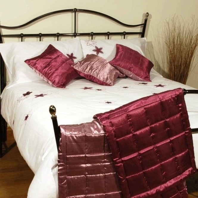Charlotte Thomas Reversible Bed Runner Set - Claret