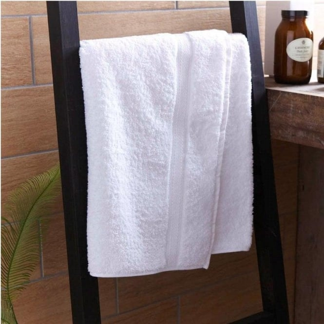 Charlotte Thomas Thick Turkish Cotton Towels in White