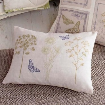 Botanique Floral Rectangular Filled Cushion