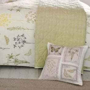 Botanique Floral Square Filled Cushion