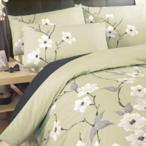 Chichi Duvet Set in Olive Green