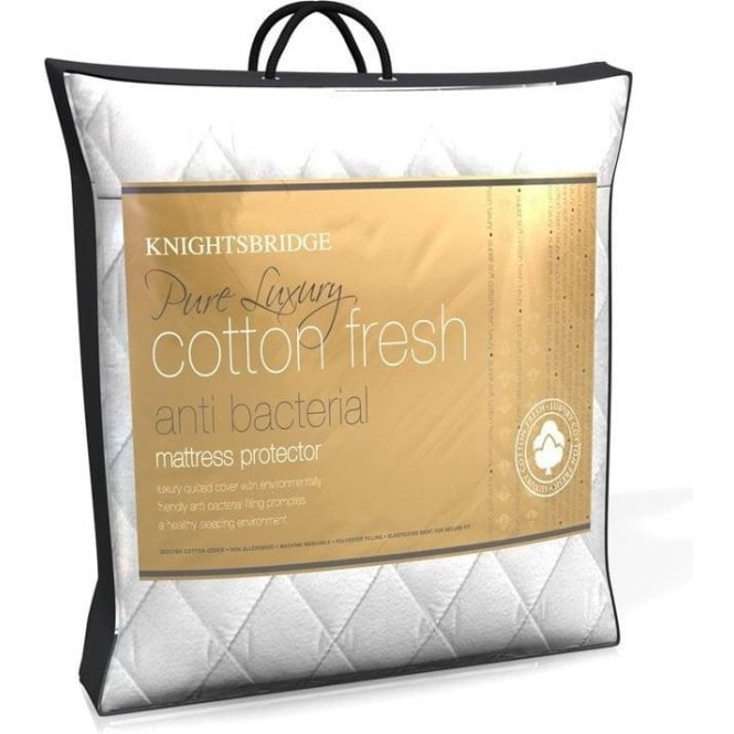 Knightsbridge Fitted Mattress Protector - Quilted