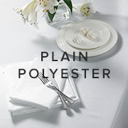 Plain Polyester Tablecloths