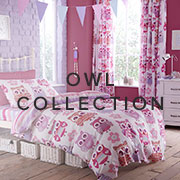 Owl Children's Bedding