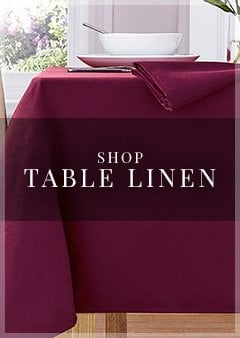 Shop Table Linen