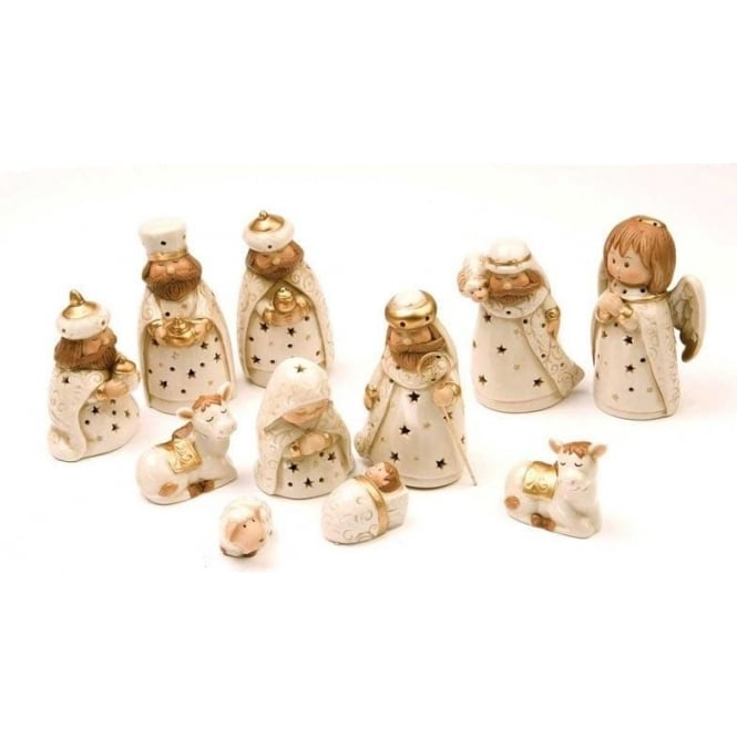 Seaquin 11 Piece Nativity Set