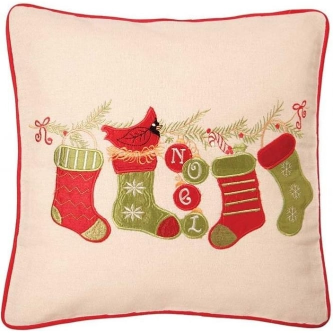 Seaquin Christmas Stocking Cushion Cover