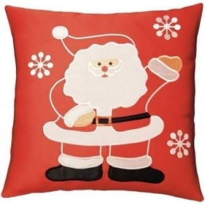 Santa Appliqué Cushion Cover
