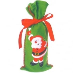 Santa Bottle Bag