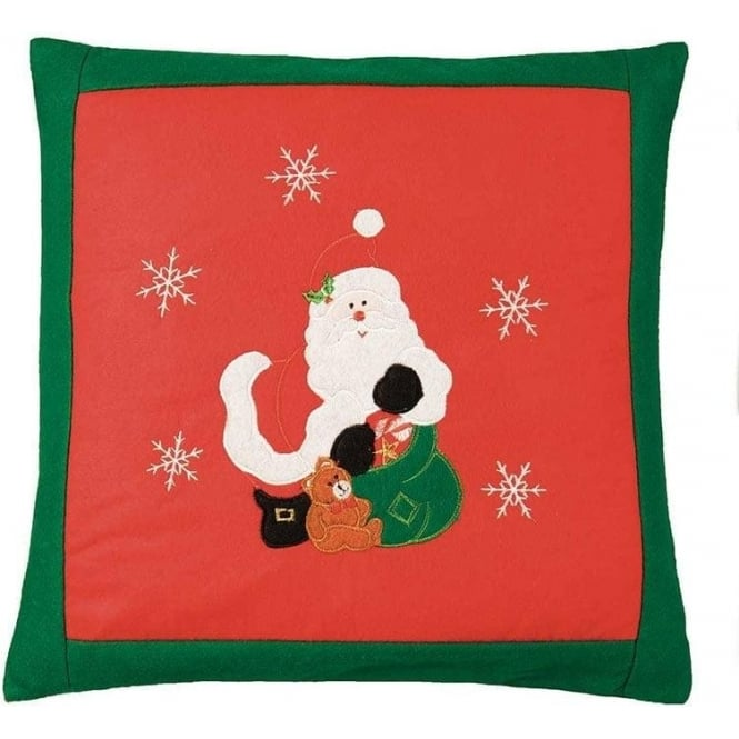 Seaquin Santa Cushion Cover
