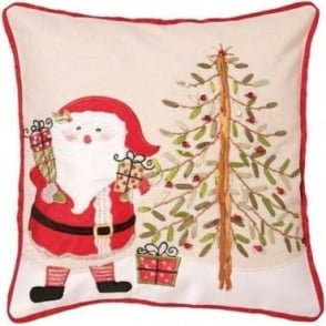 Santa Tree Cushion Cover
