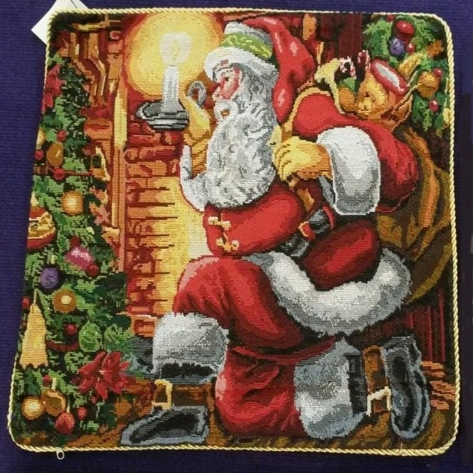 Seaquin Santa's Presents Cushion Cover