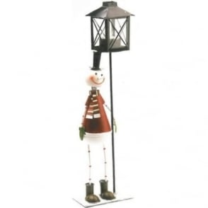 Snowman Tealight Candle Holder Stand